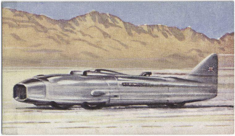 """""""Grzmot"""" samochód kapitana Eystone'a. Źródło: NYPL"""