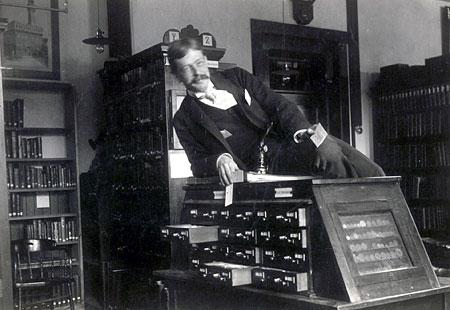 Taki retro bibliotekarz ze mnie:)