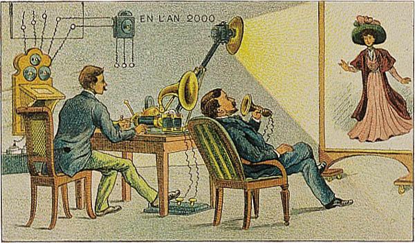 Obrazkowe wizje roku 2000 z 1899 roku…