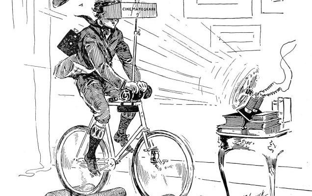 Wirtualny symulator jazdy na rowerze z XIX wieku!